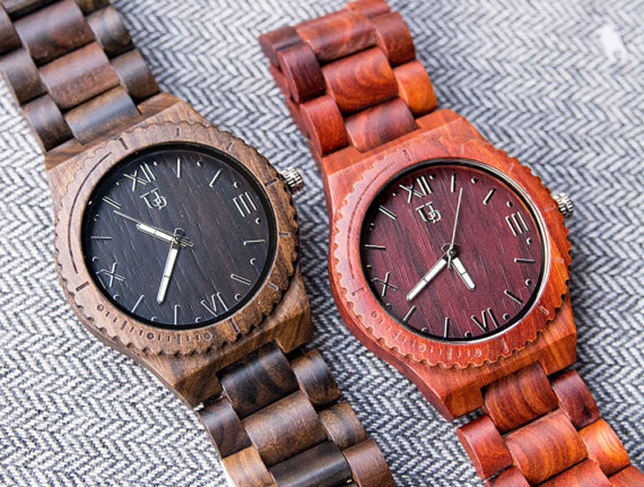 Urban Designers Personalized His & Her Wooden Watches