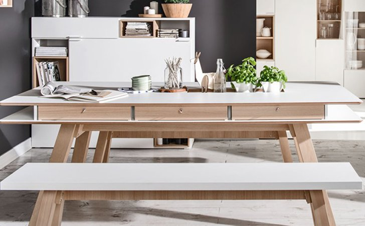 Vox Hidden Container dining table