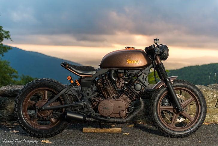 Yamaha Virago Scout Motorcycle