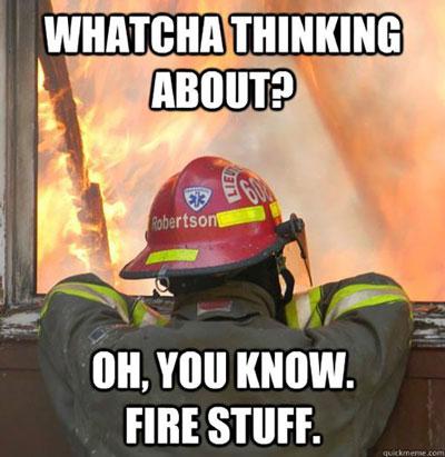 firefighter meme