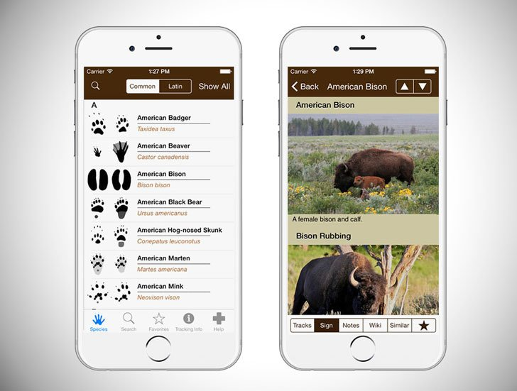 iTrack Wildlife App - camping apps