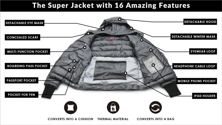16-Feature Super Jacket