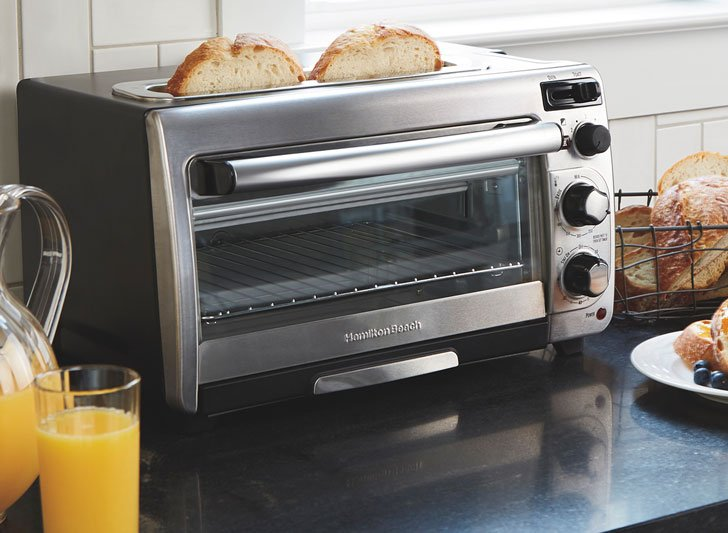 2-In-1 Hamilton Beach Oven Toaster