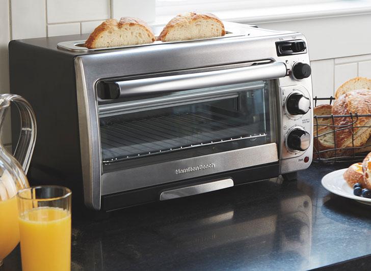 2-In-1 Hamilton Beach Oven Toaster