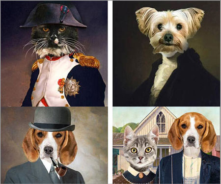 Personalized Pet Portraits