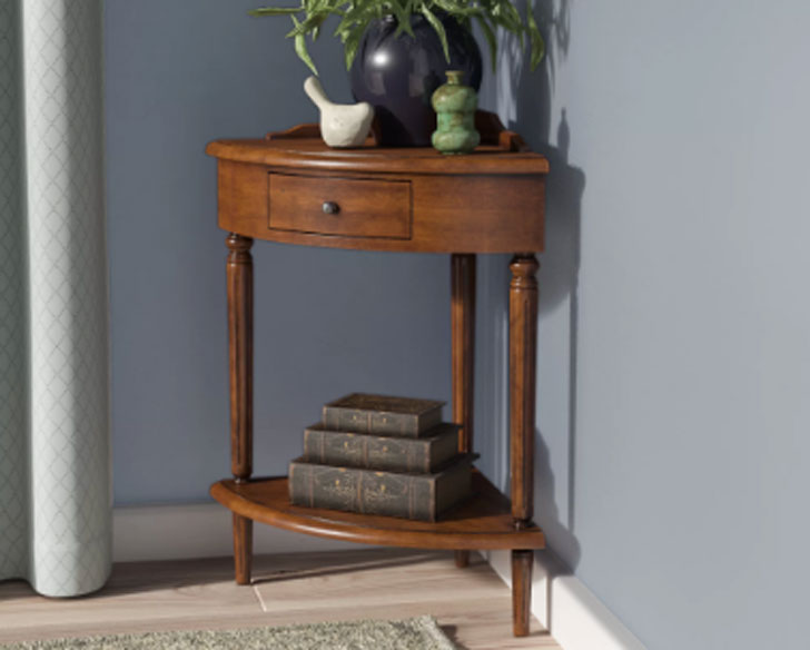 Apple Valley Corner Plant Stand