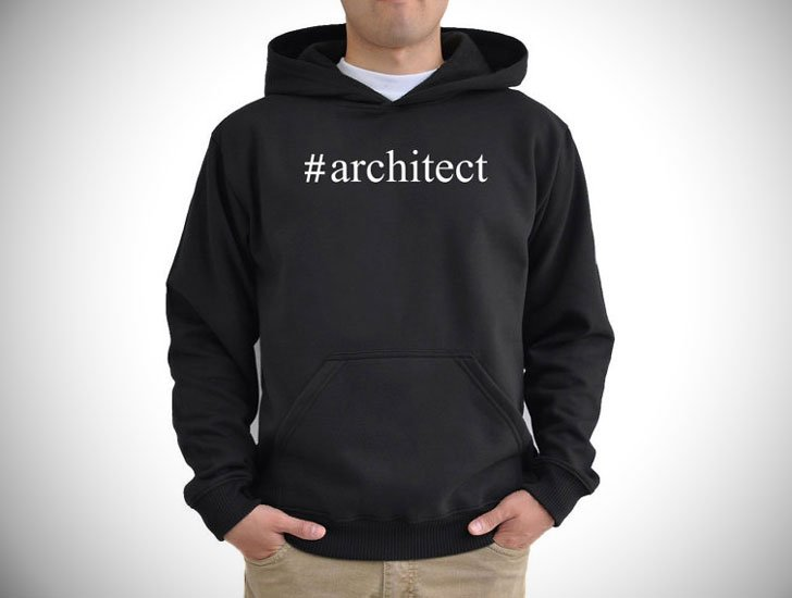 Architect Hashtag Hoodie