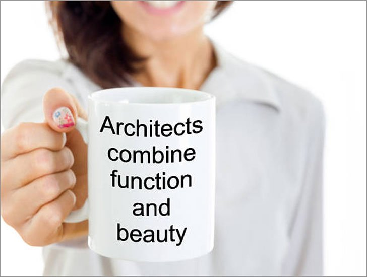 Architects Combine Function and Beauty Coffee Mug