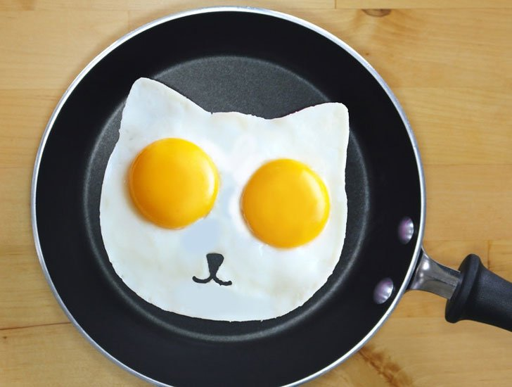 Cat Egg Mold - Cat Gifts For Cat Lovers