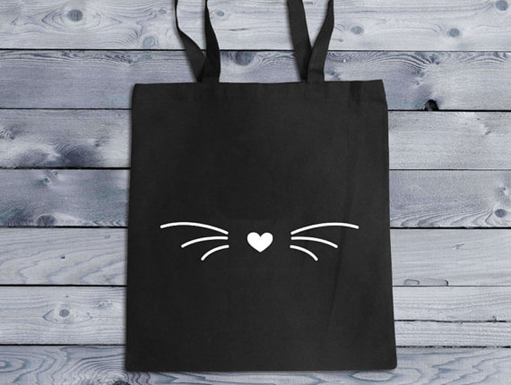 Cat Whiskers Tote Bag