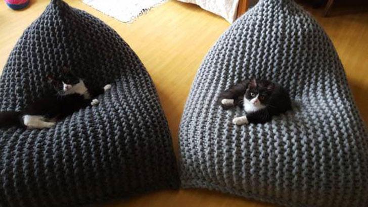 Chunky Merino Wool Kids Bean Bags