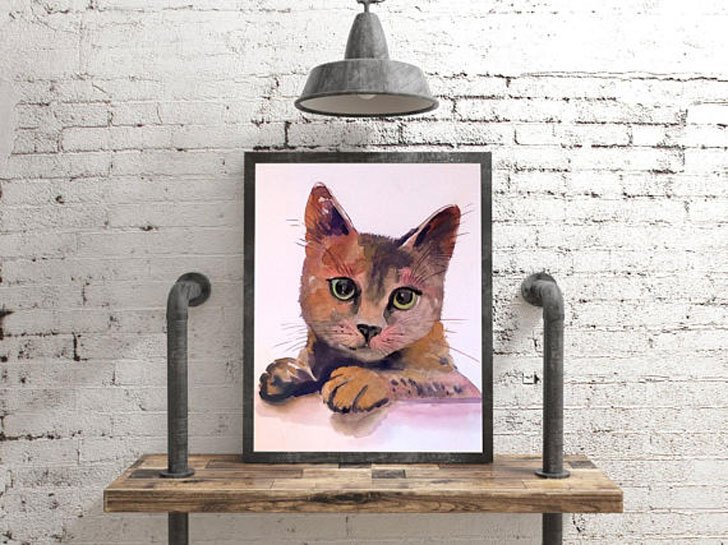 Custom Cat Portraits