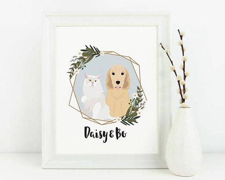 Custom Dog Illustration Portraits