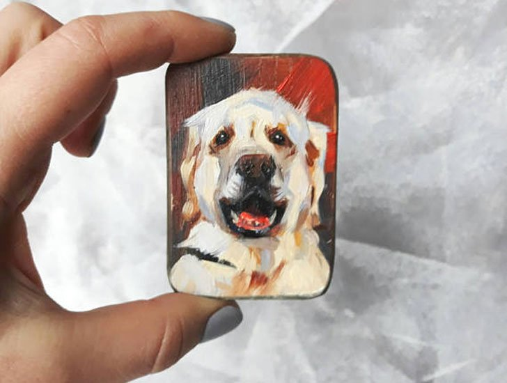 Custom Dog Magnets