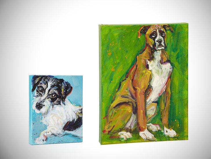 Custom Painterly Pet Portraits