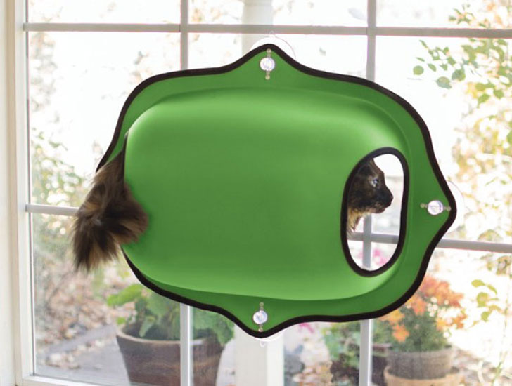EZ Mount Window Cat Beds - Cat Gifts For Cat Lovers