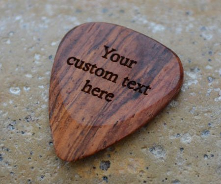 Engraved Guitar Picks