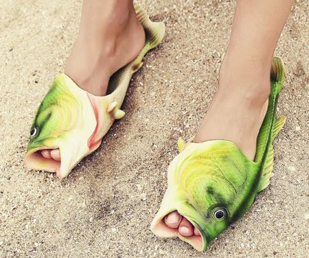 Fish Flip Flops