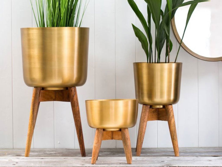Forest & Co Wooden Plant Stands