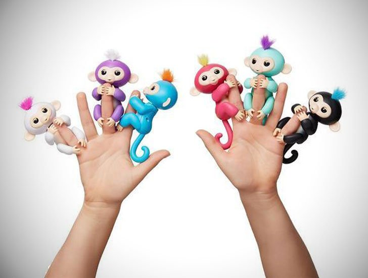 Happy Monkey Finger Pets