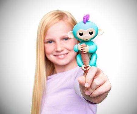 Happy Monkey Finger Pets