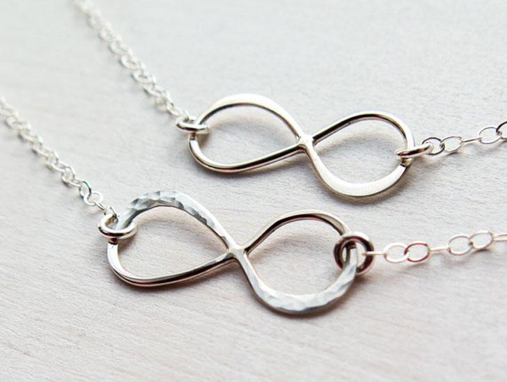 Infinity Best Friendship Necklaces - best friendship necklaces