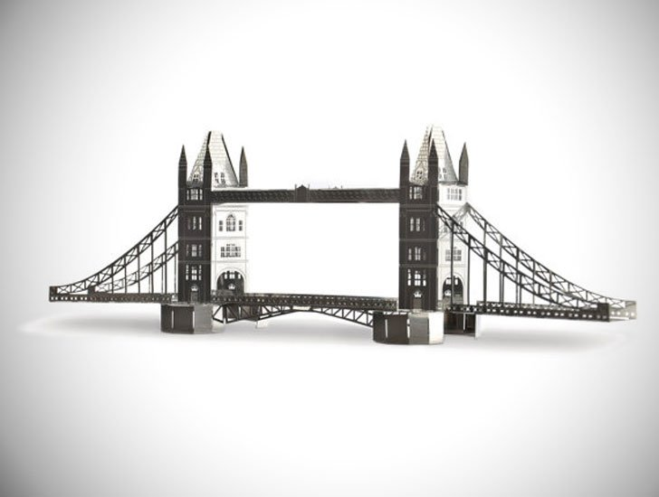 London Famous Landmarks Architectural Model Kits