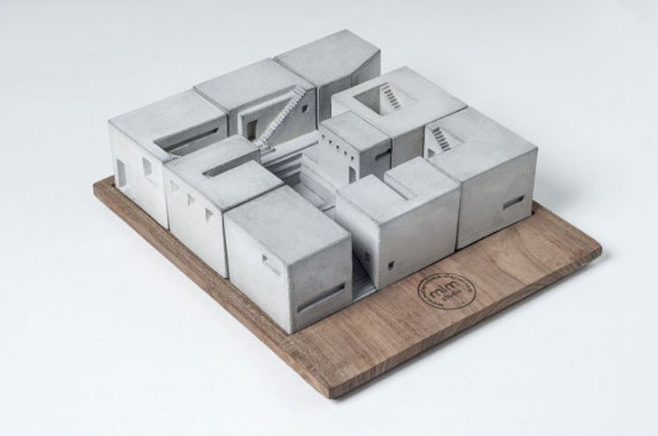 Miniature Concrete Homes