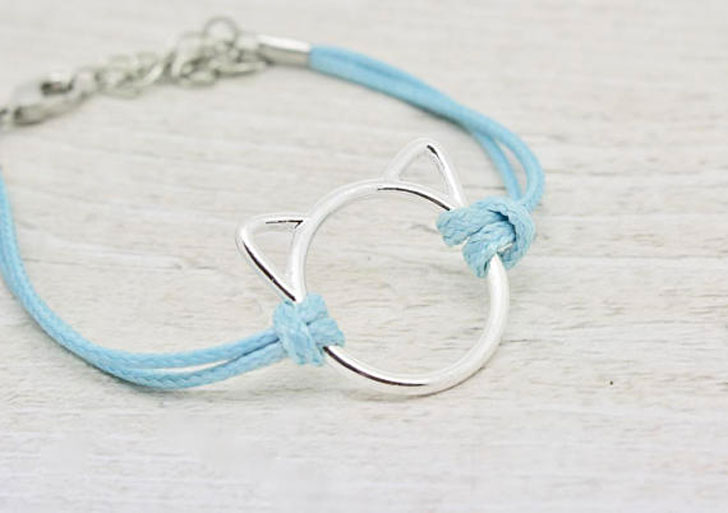 Minimalist Cat Bracelet