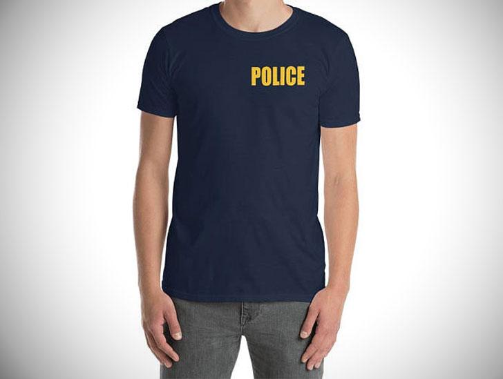 Minimalist Police T-Shirt