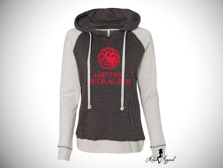 Mother of Dragons GOT Hoodie