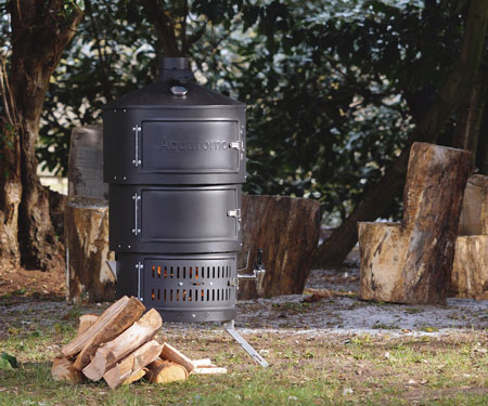 Multi-Fuel Outdoor Cooking Stove