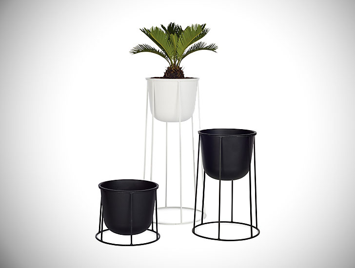 Norm Architects Wire Planters