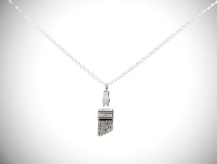 Paintbrush Necklace