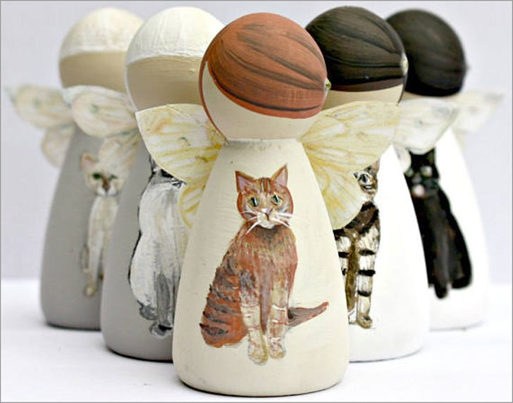Personalised Cat Angel