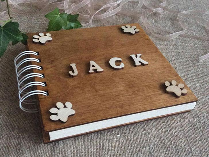 Personalised Dog Photo Album