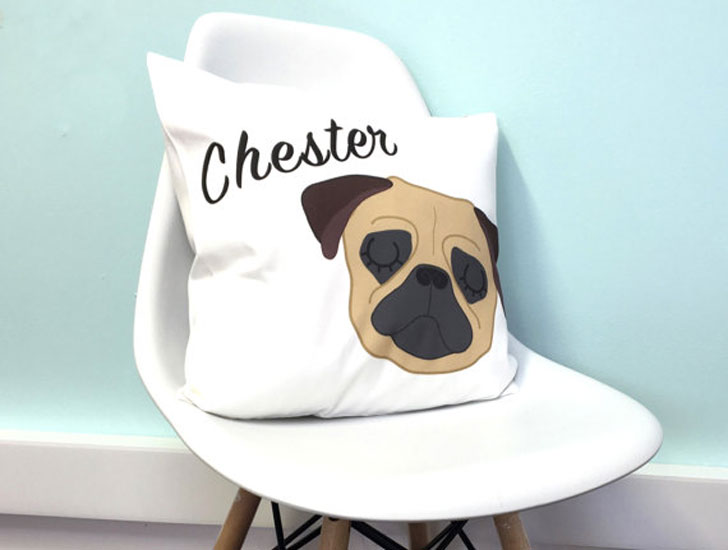 Personalized Dog Cushion Covers