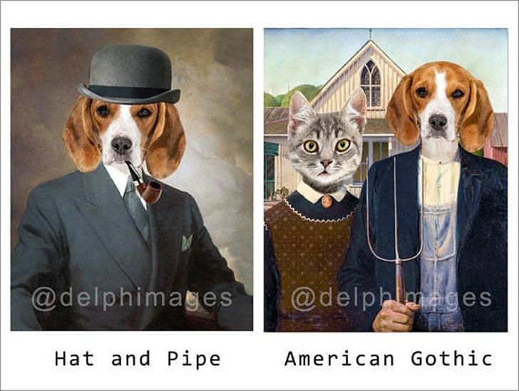 Personalized Pet Portraits