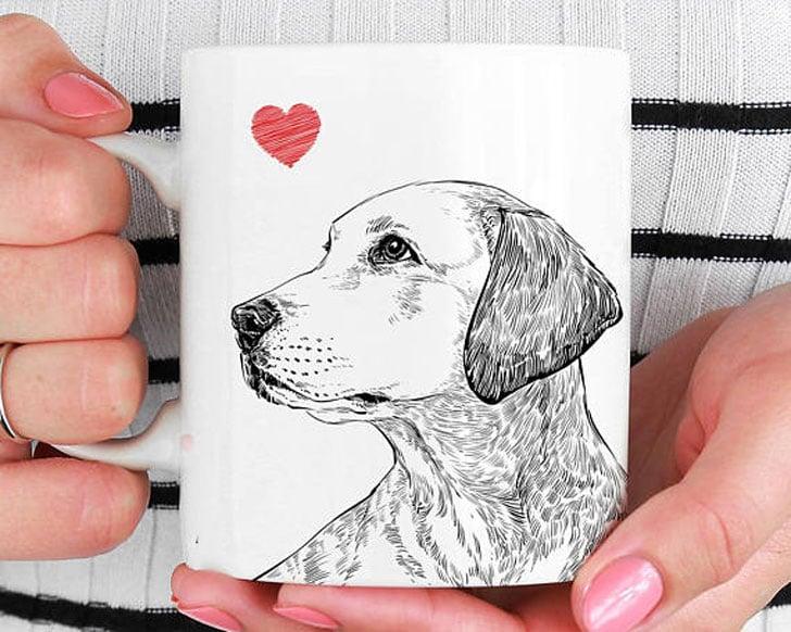 Pet Portrait Coffee Mugs
