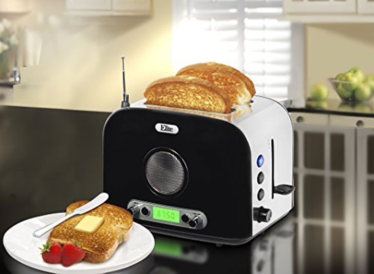 Platinum Radio Toaster