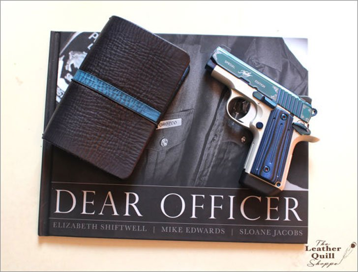Police Officers Leather Traveler Notebook