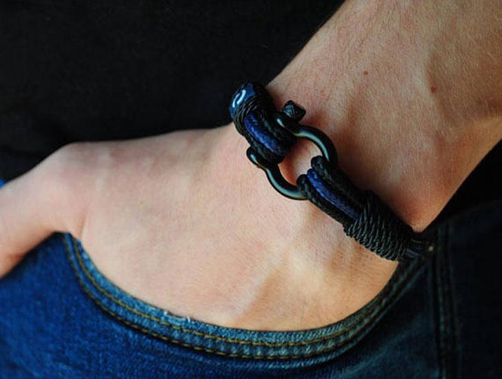 Police Officers Paracord Bracelet