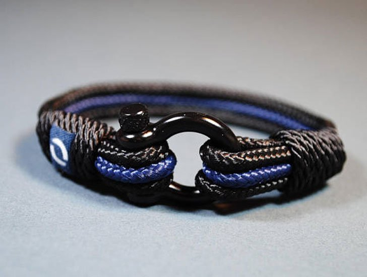 Police Officers Paracord Bracelet