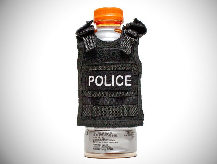 Police Vest Drink Koozie - gifts for police officers