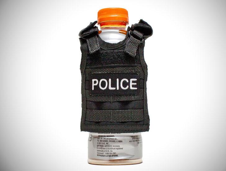Police Vest Drink Koozie - gifts for police officers