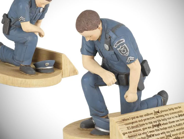 Winston Porter Police Officer Figurines - gifts for police officers