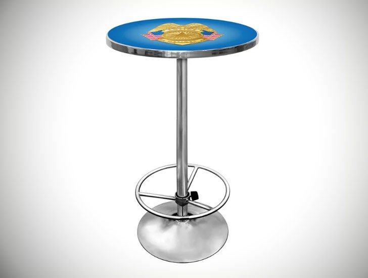 Police Officer Pub Table