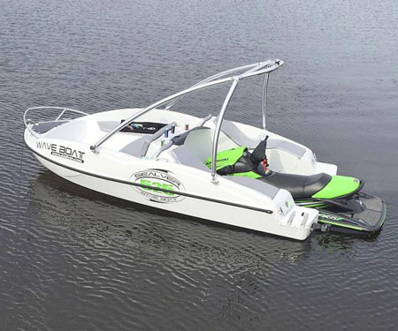 Sealver Jet-ski-Powered Wave Boat