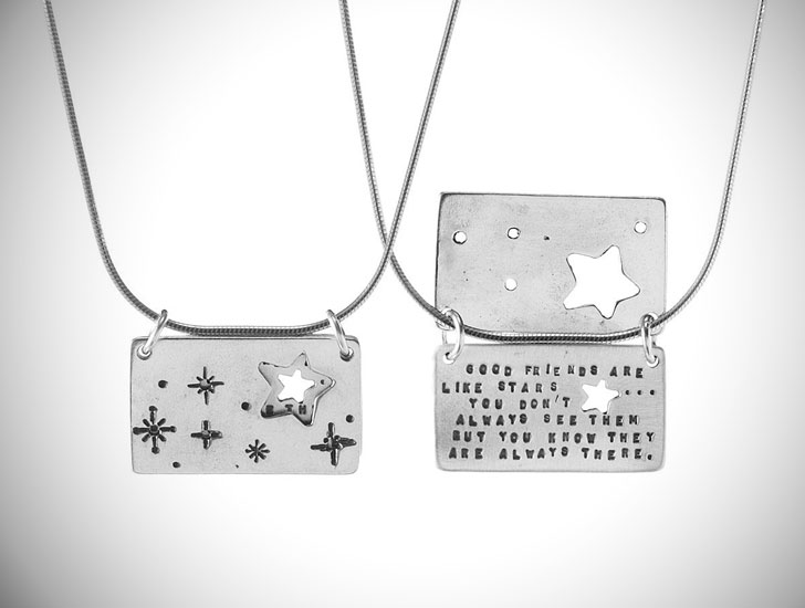 Sterling Silver Starry Friends Necklaces