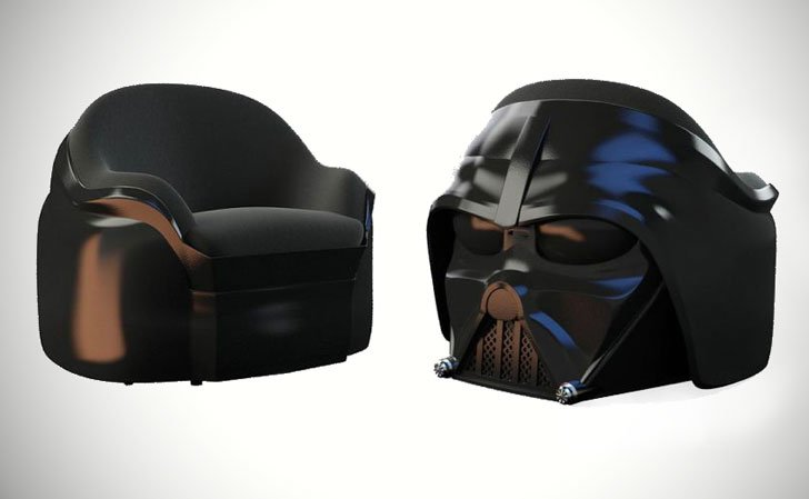The Dark Side Arm Chair
